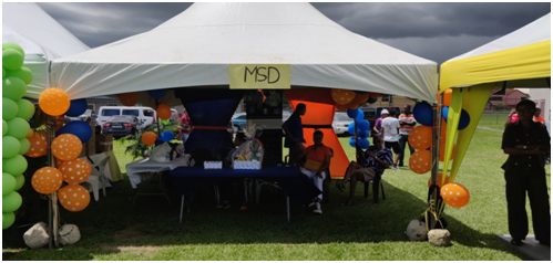 MSD's Booth at CCULTT's Opening Ceremony & Family Day